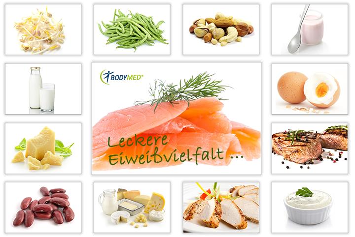 Essentielle Lebensmittel für die Ernährung